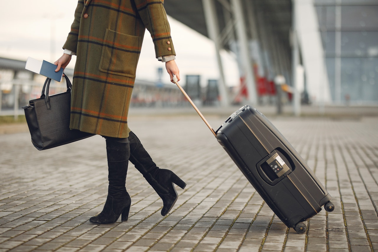 Austrian Airlines bagaż podręczny i torebka damska