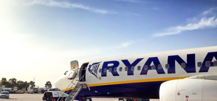 Bagaż podręczny Ryanair – wymiary i waga od 1 listopada 2018