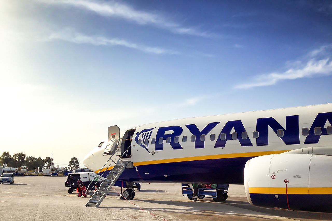 Bagaż podręczny Ryanair - wymiany i waga od 1 listopada 2018