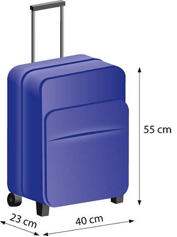 LOT bagaż podręczny wymiary limit