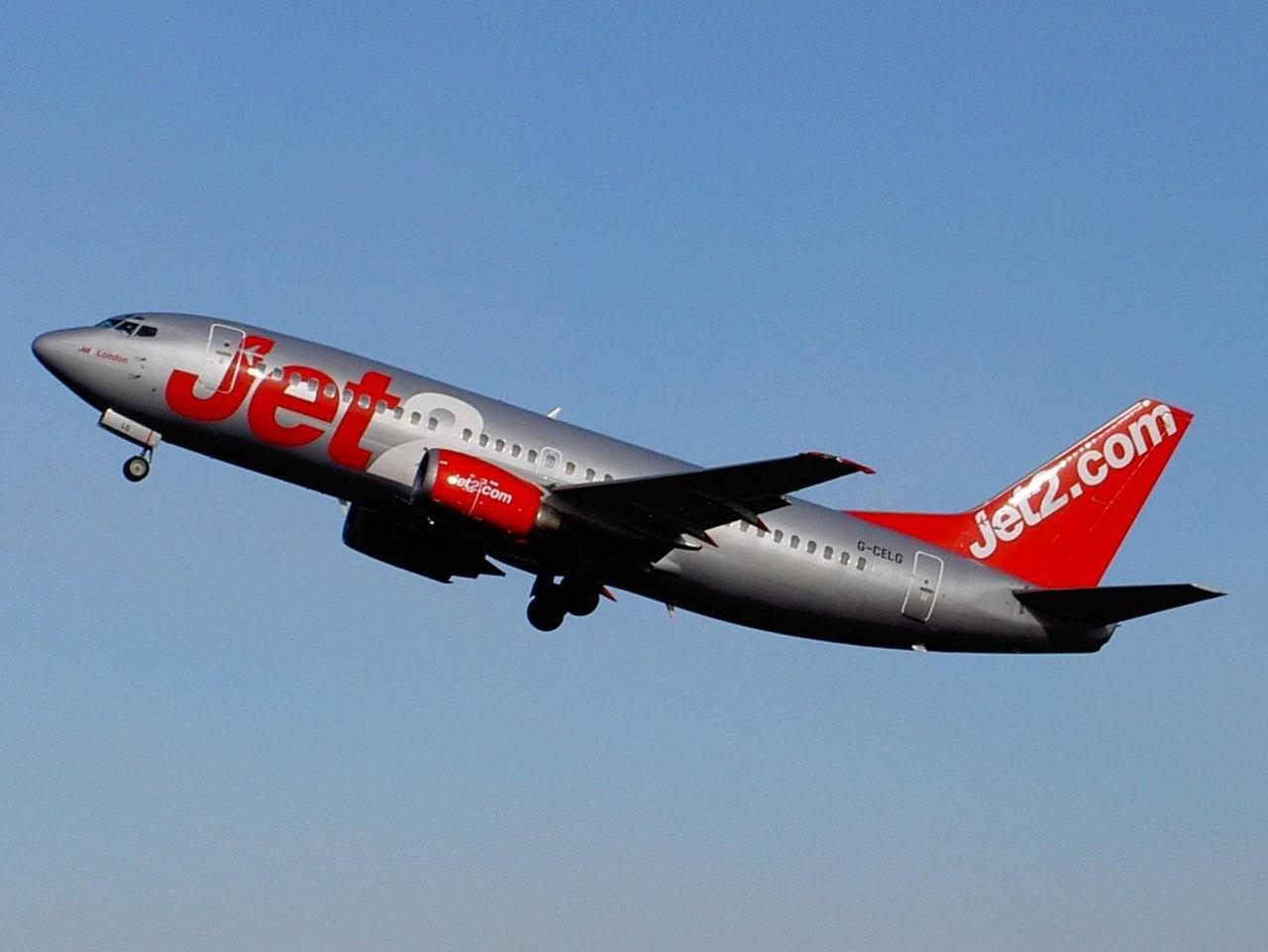 Jet2.com bagaż podręczny - wymiary i waga