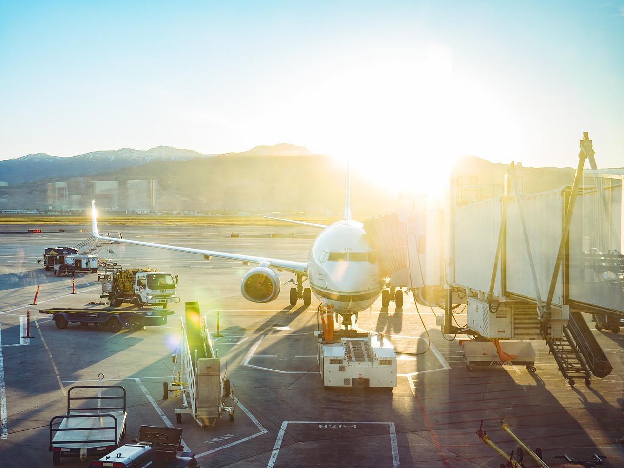 Odprawa na lotnisku: przed wejściem do samolotu